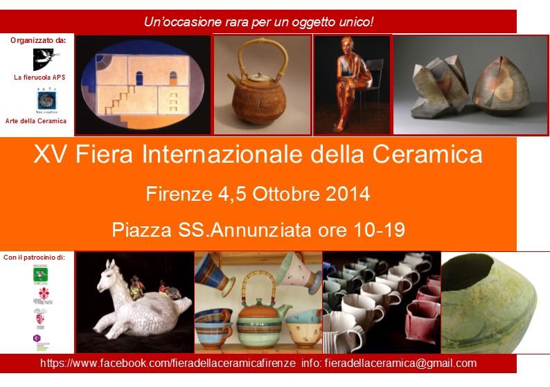 Cartolina XV Fiera Internazionale della Ceramica